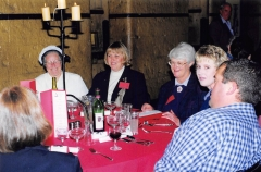 1999 05 Melb 3rd Conference Dinner 07 (L-R) Shirley FOLEY, Leanne WATMUFF, Pam MAMOUNEY, ___