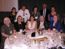 2004 Mildura 5th Conference 07 - (Front L-R) Eleanor PUGSLEY, Jenny HARKNESS, Linley HOOPER, ___, Lesle BERRY. (Back row L-R) ___, Peter FOLK, ___ BOOKHAM, ___, ___