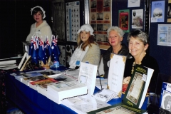 2006 Expo at Melbourne 04 - Hotham Historical Society (L-R) ___, ___, Lorraine SISKA, Mary KEHOE