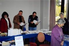 2006 Expo at Melbourne 08 - foreground, Anthea PHILLIPS from Archive Digital Books and Gould Genealogy