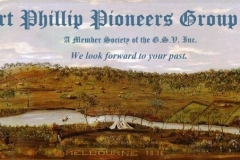 Port Phillip Pioneers Group