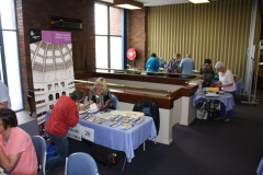 2015 Expo at Seymour (10) - State Library of Victoria table